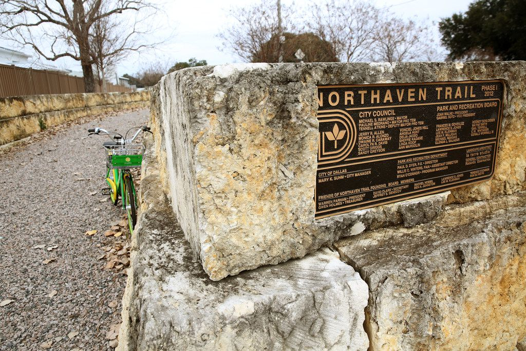 The $5.7 million Northaven Trail project is scheduled for completion in 2019.