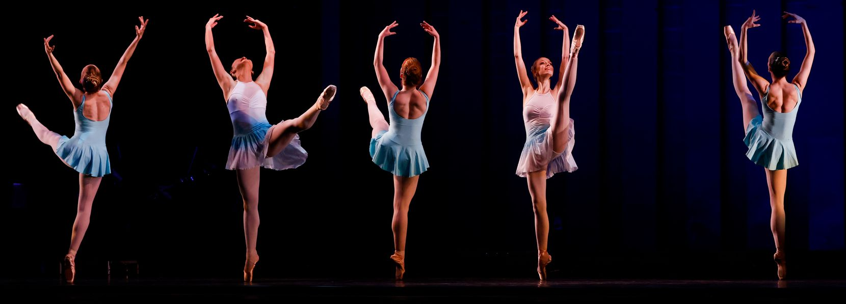 """Avant Chamber Ballet performs """"The Seasons"""" during """"Together We Dance"""" at Annette Strauss Square on Friday, March 26, 2021."""