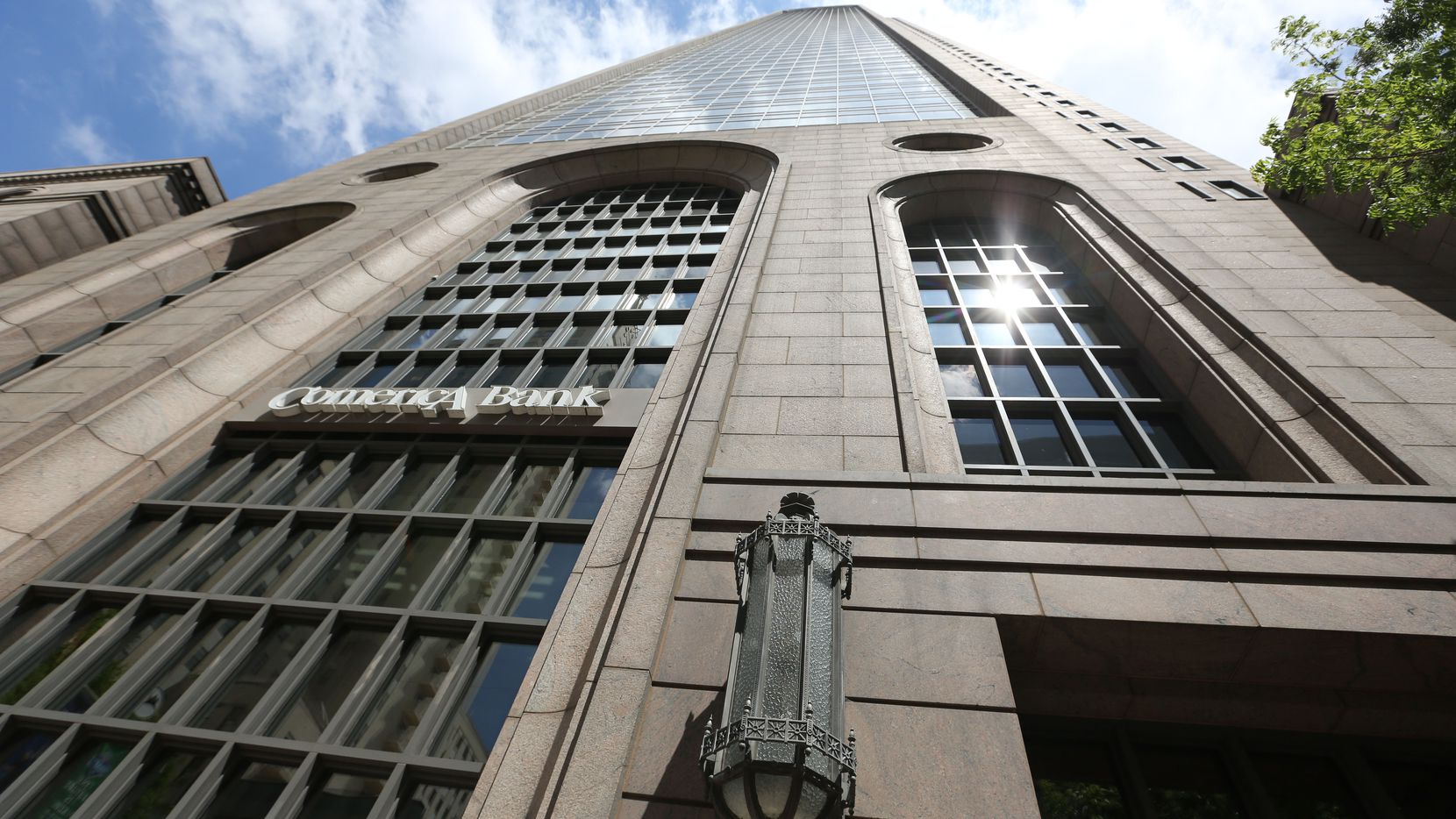 The 60-story Comerica Bank Tower on Main Street is owned by TriGate Capital LLC and M-M Properties.
