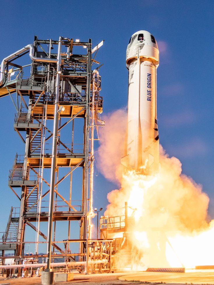 New Shepard's 10th launch on Jan. 23, 2019.