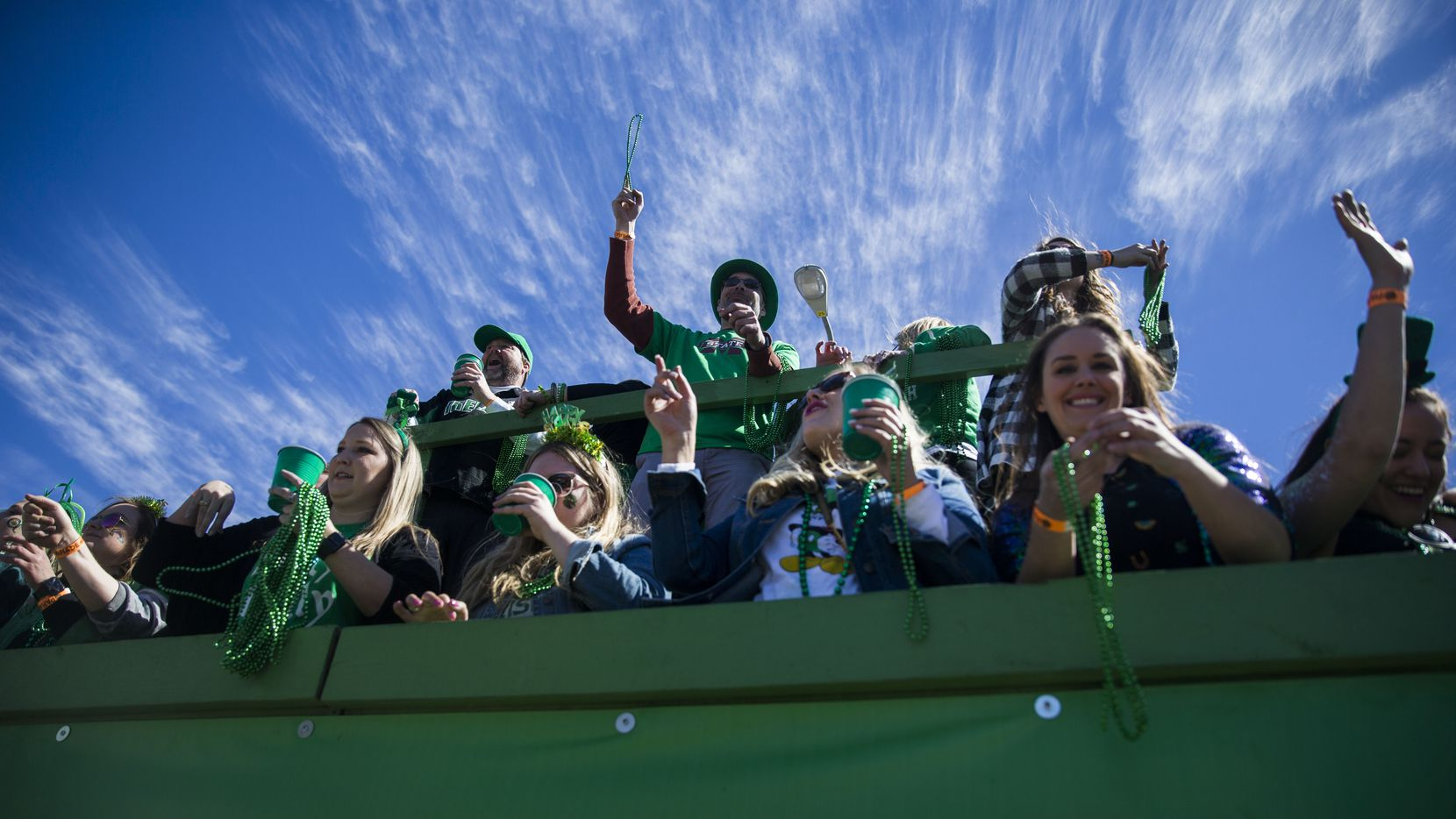 The annual St. Patrick's Day parade on Greenville Avenue, the largest in the Southwest, has been canceled due to concerns about spread of the coronavirus. About 125,000 people were expected to attend.