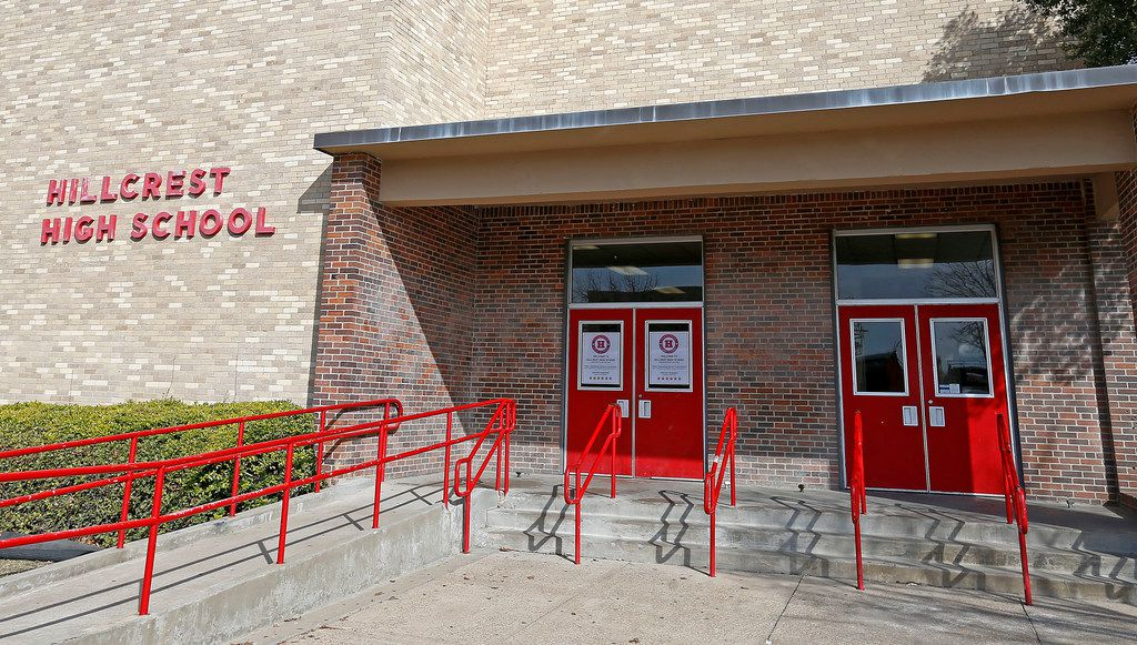 Hillcrest High School, where a 25-year-old pretended to be a 17-year-old