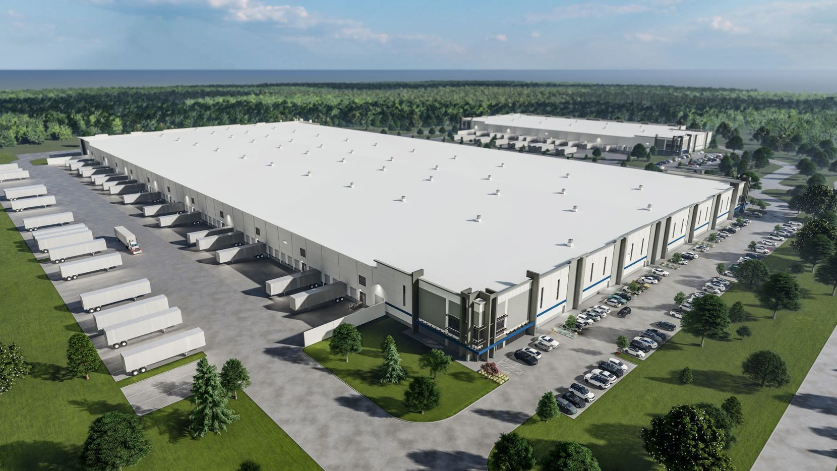 CT Realty's new Westport Logistics Center is near Alliance Airport.