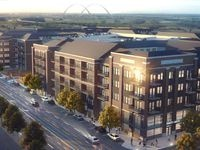 The next phase of the Trinity Green project will be 490 apartments.