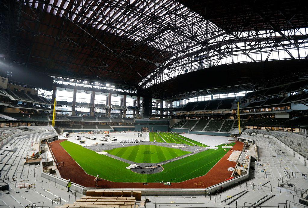 El Globe Life Field de los Rangers de Texas no fue considerado para ser sede del Clásico Mundial de Beisbol.
