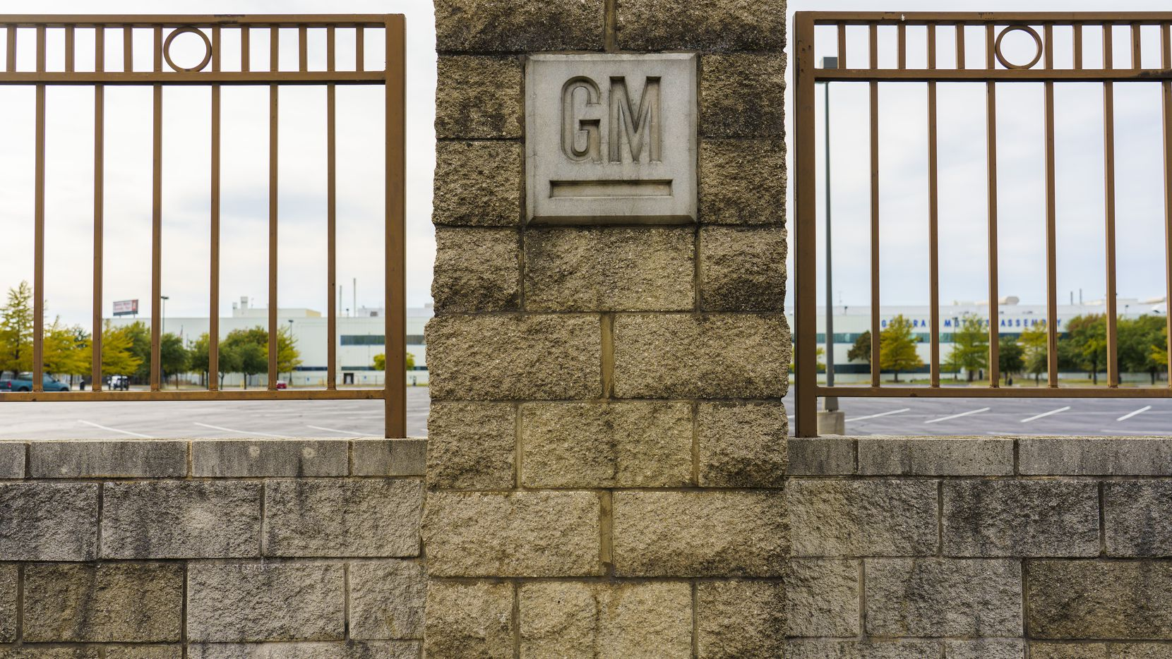 The General Motors Assembly Plant on Wednesday, Oct. 16, 2019, in Arlington, Texas.