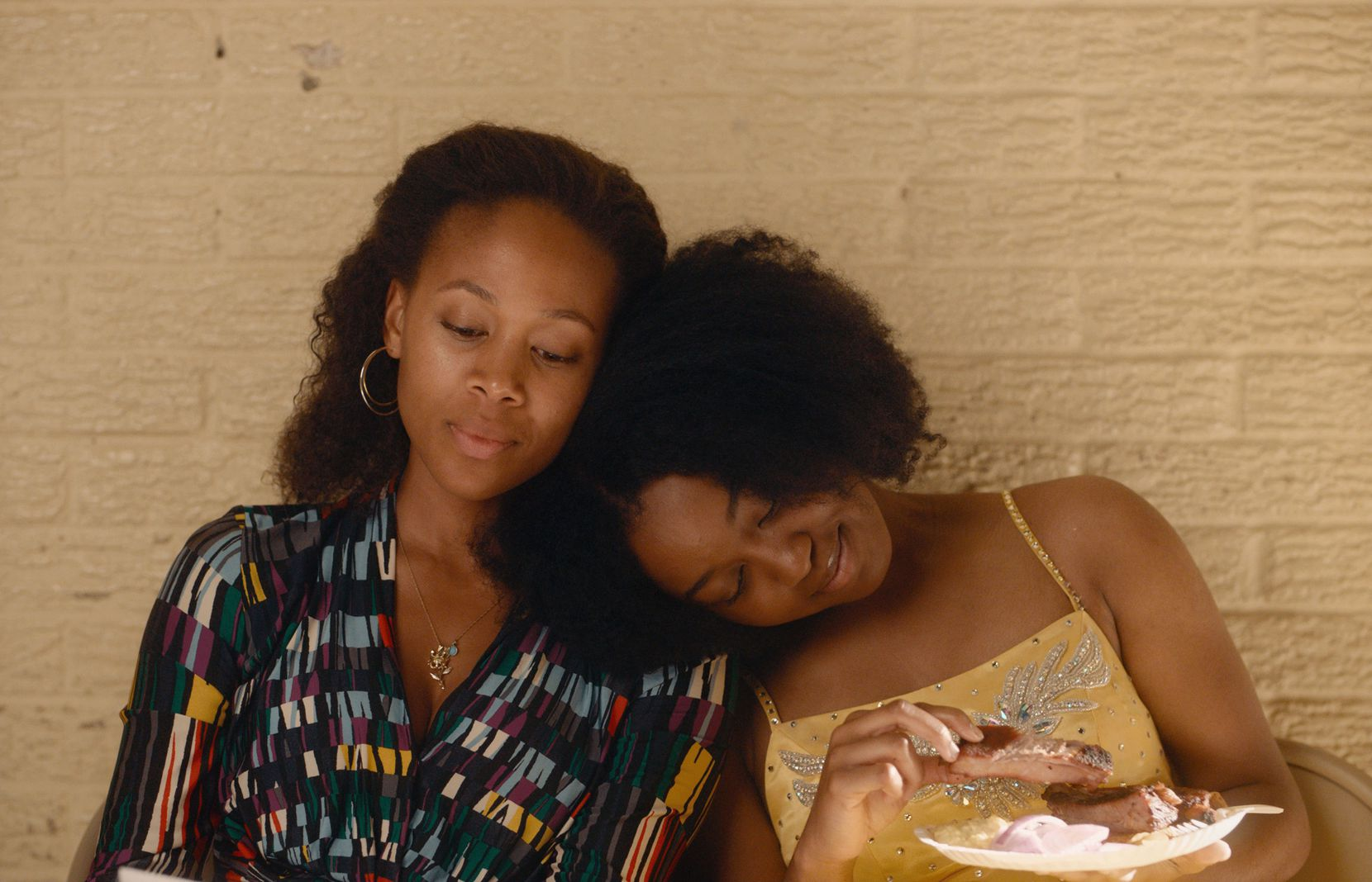 "(L-R) Nicole Beharie as Turquoise and Alexis Chikaeze as Kai in the drama, ""Miss Juneteenth,"" a Vertical Entertainment release. Photo:  Vertical Entertainment."