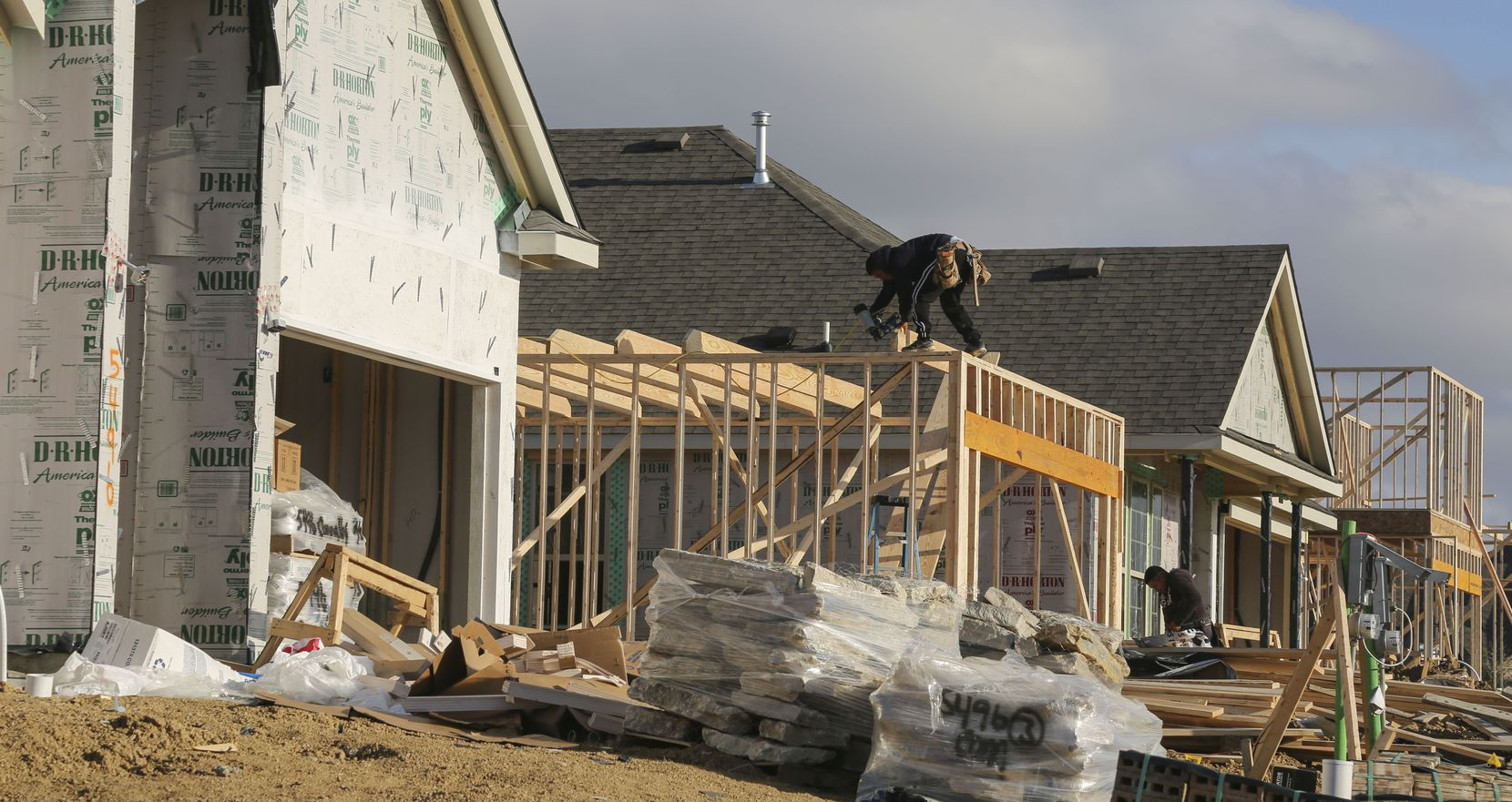 The nation's largest homebuilder, Arlington-based D.R. Horton, turned in a strong 2020.