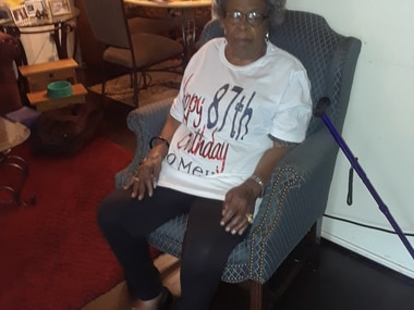 """Oletha Morrow said her mother, Anita Thompson (shown), was a """"God-fearing"""" woman."""