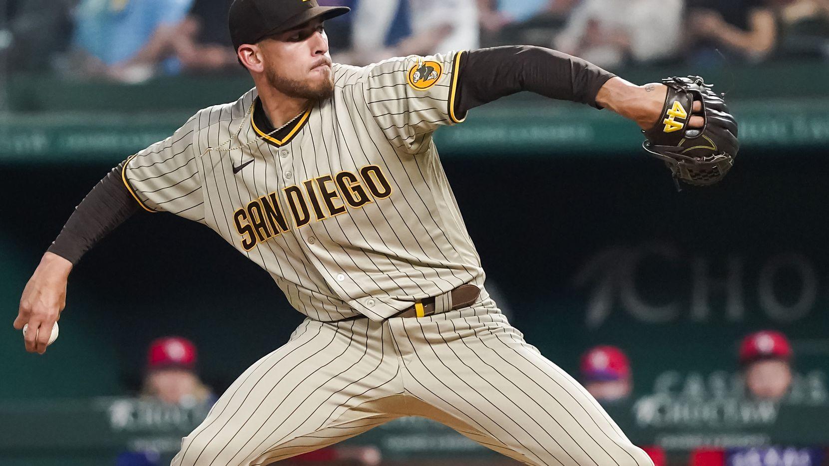 EL pitcher de los Padres de San Diego, Joe Musgrove, pasó a la historia en el Globe Life Field de Arlington.