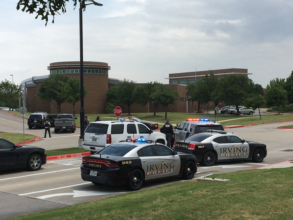 North Lake College in Irving announced a lockdown at the campus on Wednesday.