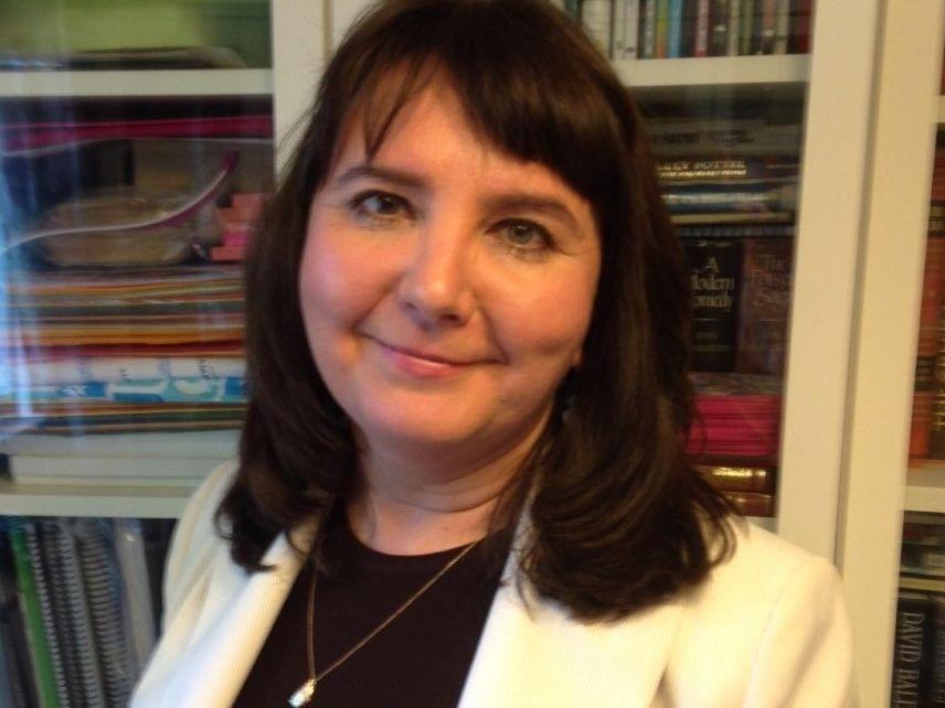 Russian-born Dr. Olga Korobovskaya was the founding principal of Dallas ISD's Downtown Montessori at Ida B. Wells Academy, which opened in fall 2020.