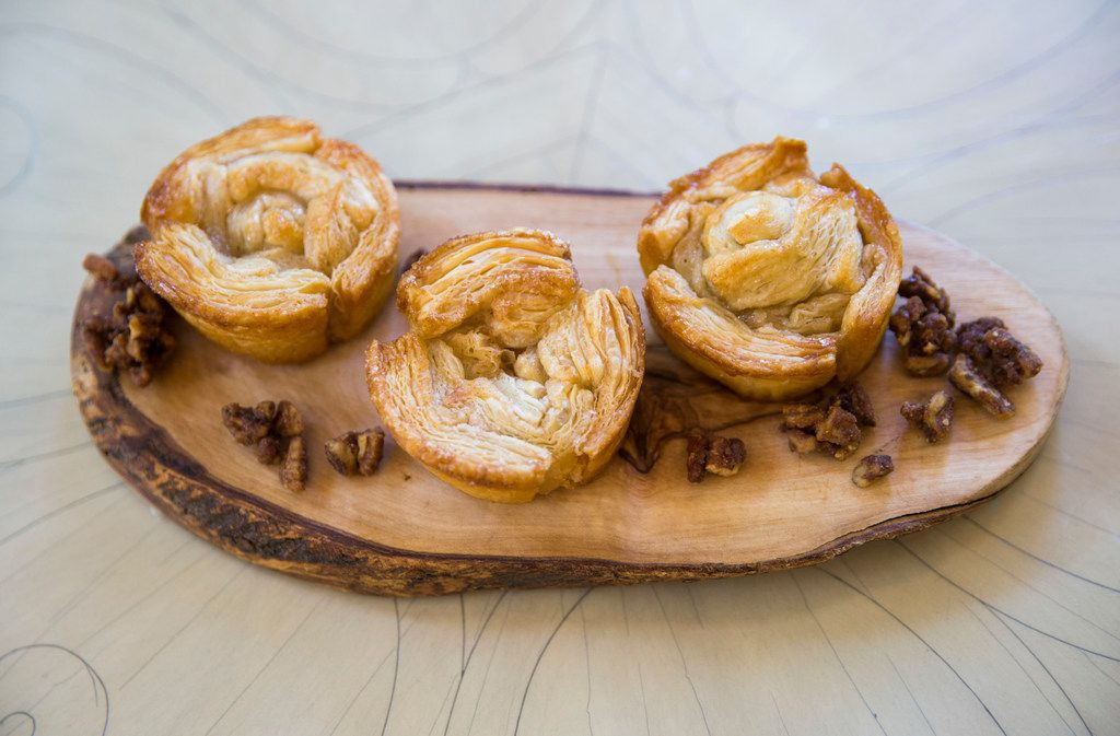 Monkey bread is made from scraps of puff pastry by pastry chef Jacquelynn Beckman