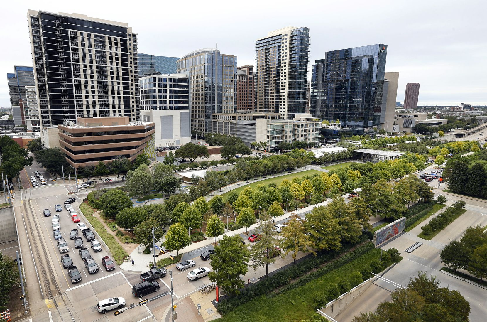 Klyde Warren Park is, unquestionably, the most significant urban achievement of the last decade in Dallas.
