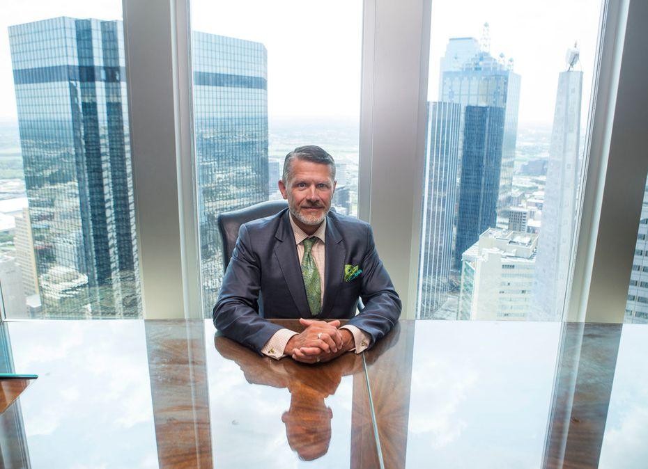 Brad Heppner, CEO of Beneficient Group in Dallas.