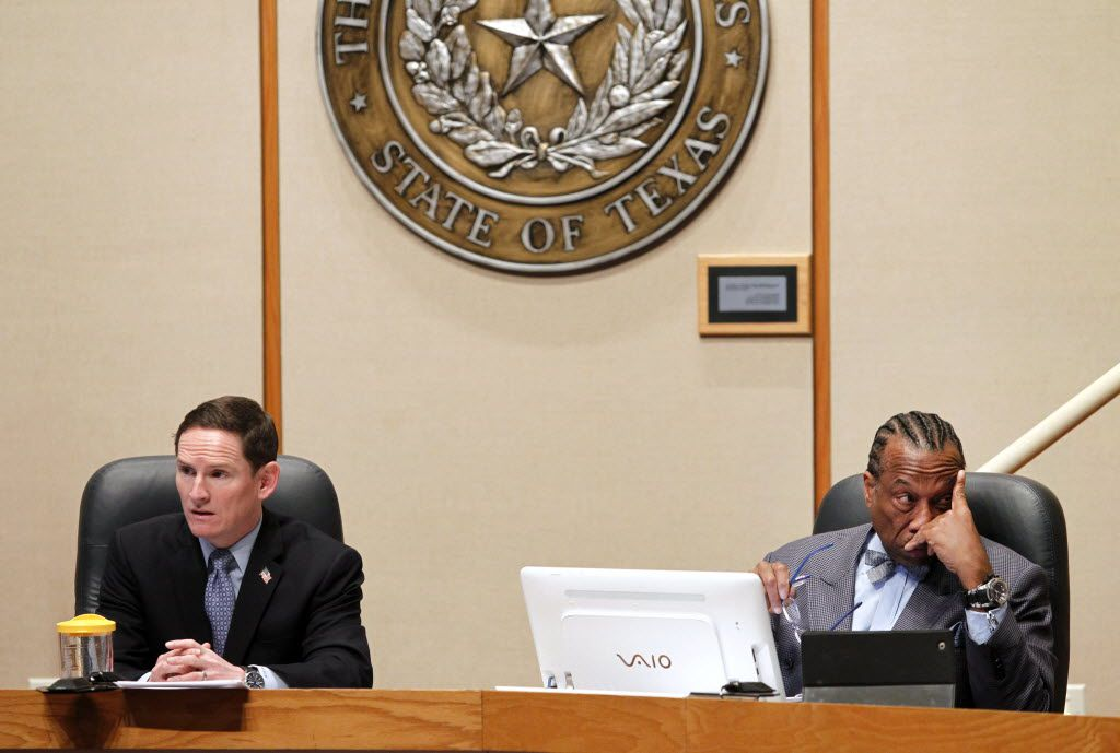 County Judge Clay Jenkins and Commissioner John Wiley Price have frequently clashed on the Dallas County Commissioners Court.