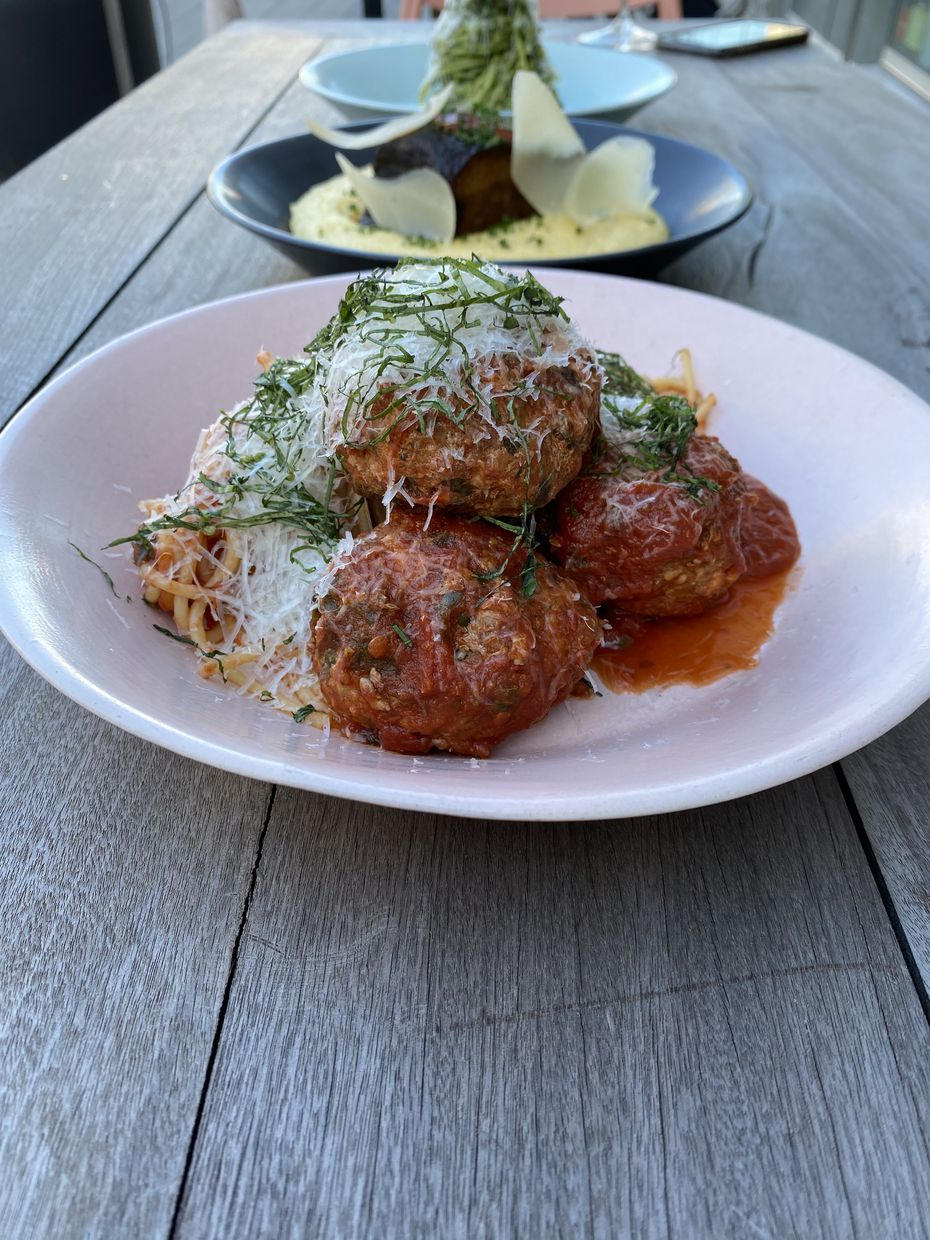 Italian-American fast-casual restaurant Sfereco will specialize in meatballs. It opens at the Statler hotel in mid 2020.