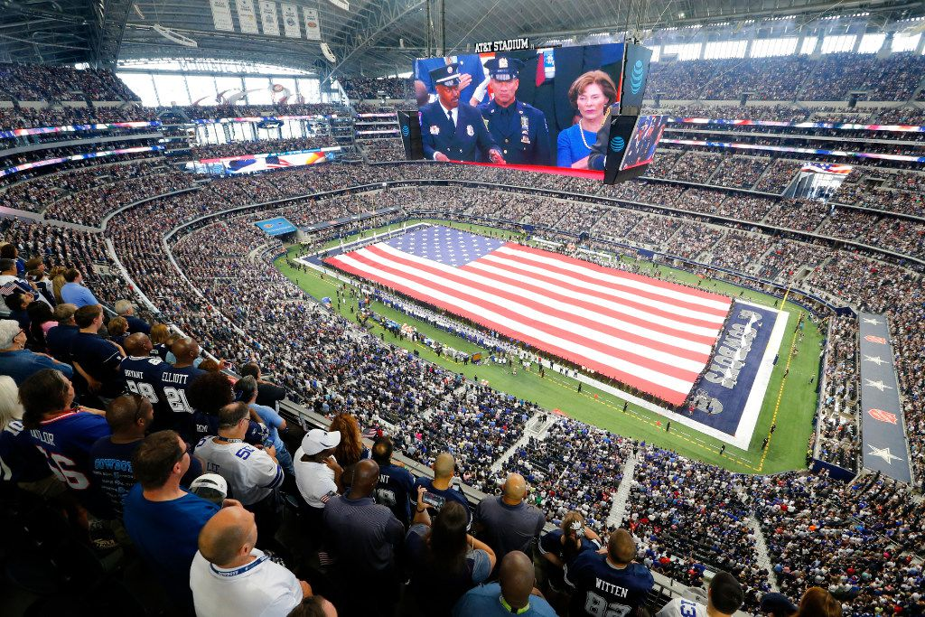 AT&T Stadium, home of the Dallas Cowboys, will have a new neighbor if Arlington voters decide to help fund a new $1 billion stadium for the Texas Rangers.