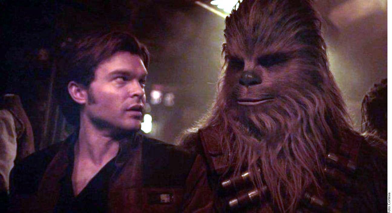 Alden Ehrenreich, quien interpretará una versión más joven de este personaje en la película: 'Han Solo: Una Historia de Star Wars'. AGENCIA REFORMA