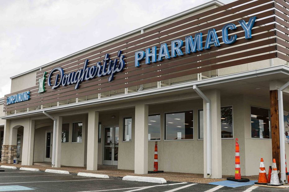 The new Dougherty's Pharmacy is at Preston Road and LBJ Freeway in Dallas.