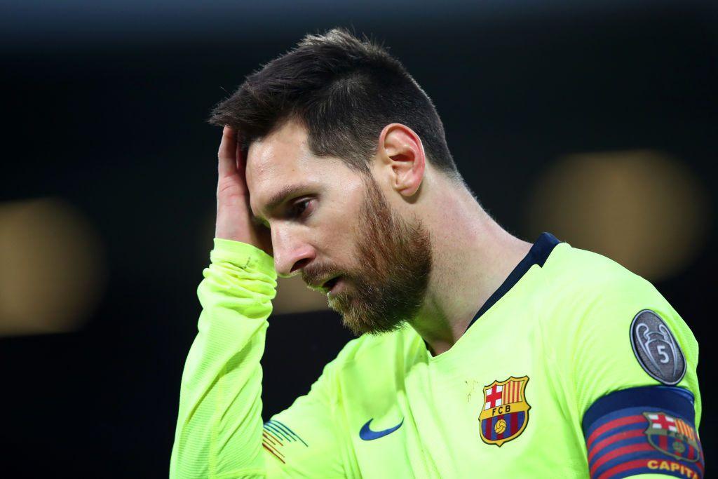 Lionel Messi y el Barcelona perdieron ante el Liverpool en las semifinales de la Liga de Campeones. (Clive Brunskill/Getty Images)