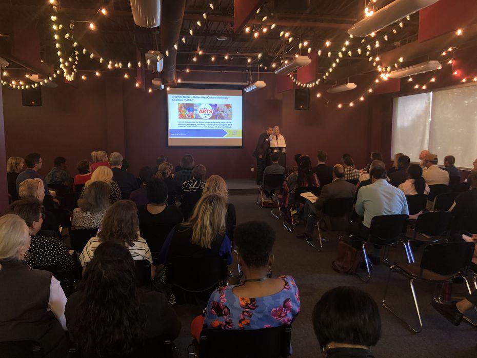 La Ciudad de Dallas presento su proyecto de presupuesto para artes en 2020, en noviembre en el Dallas Children's Theatre.