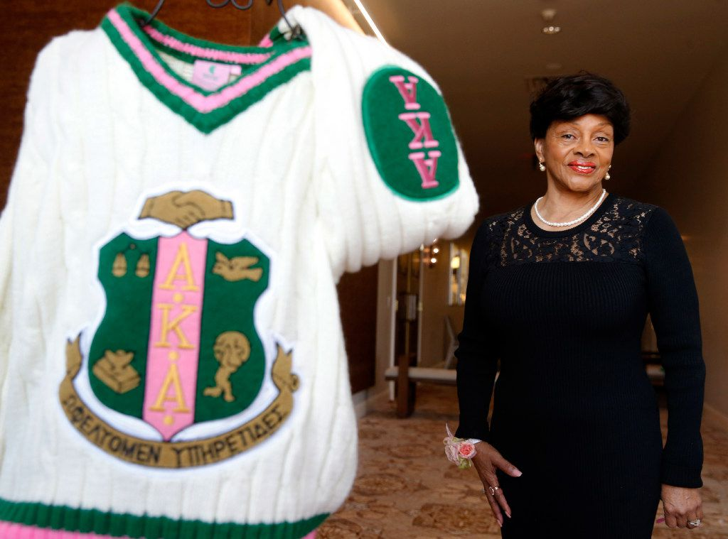 Beverly Collymore has been a member of Alpha Kappa Alpha for 60 years.