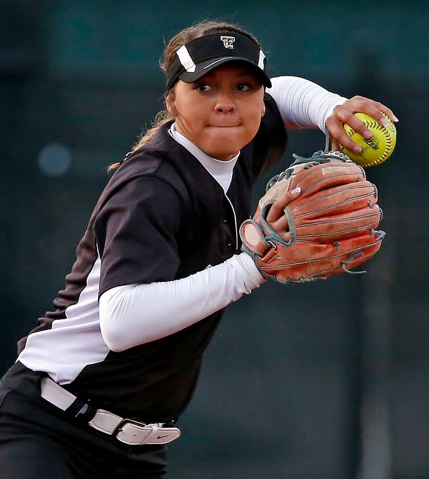 The Colony's Jayda Coleman was named a first-team All-American by MaxPreps.com. (Jae S. Lee/The Dallas Morning News)