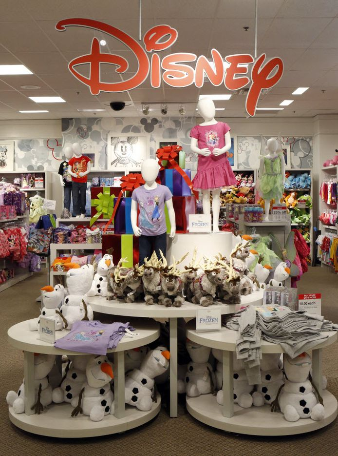 Disney shop at the J.C. Penney store at Stonebriar Centre in Frisco. Photographed on Tuesday, October 14, 2014. (Lara Solt/The Dallas Morning News)