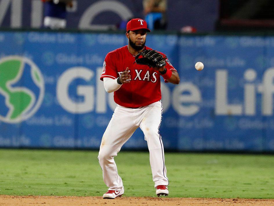 Elvis Andrus estuvo 12 temporadas como shortstop de los Rangers de Texas.