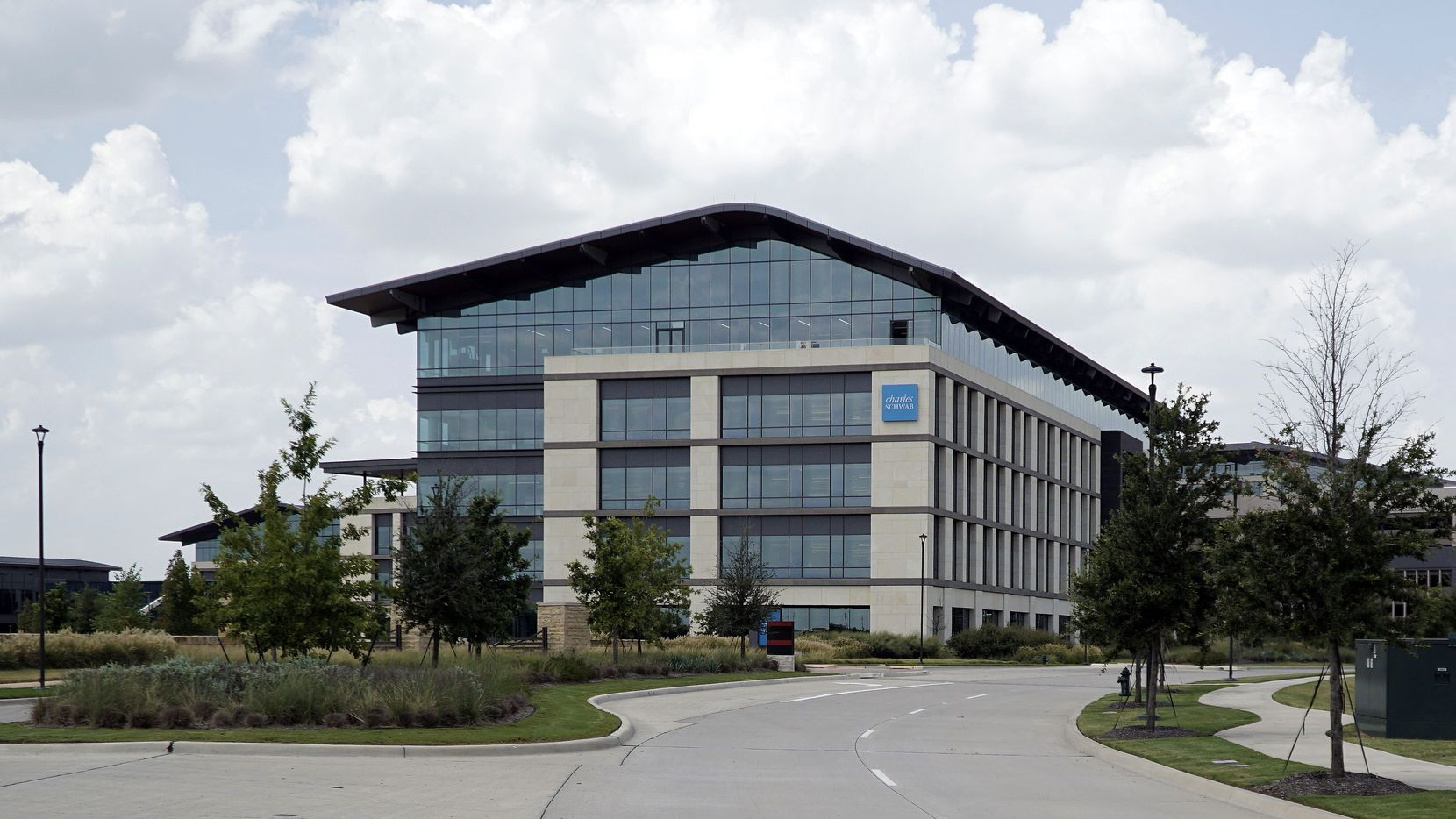 Charles Schwab corporate offices in Westlake, Texas on Wednesday, July 28, 2021.(Lawrence Jenkins/Special Contributor)