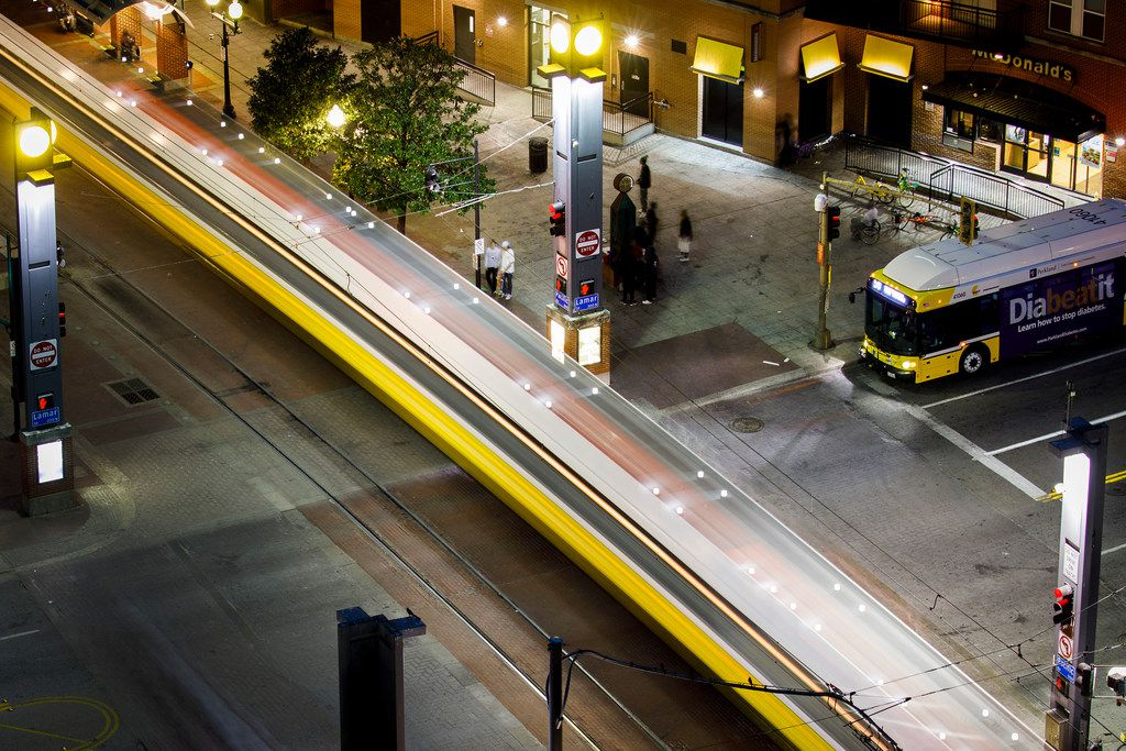 Dallas Area Rapid Transit offers free rides on New Year's Eve.