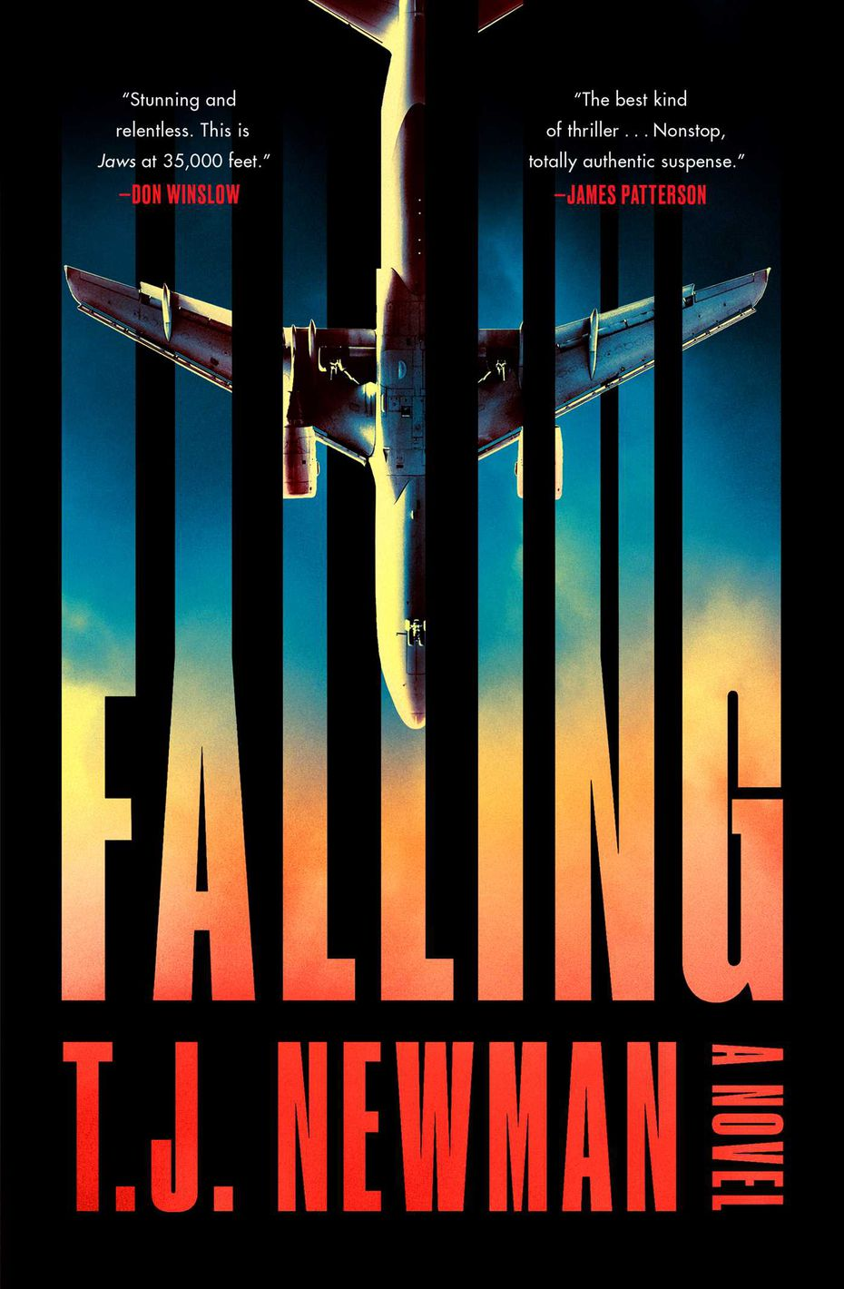 """T.J. Newman's debut novel, """"Falling,"""" is a thriller about an airline pilot facing a nightmare scenario."""