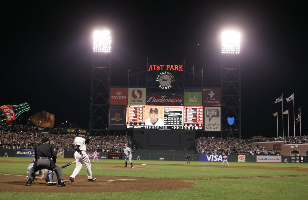 San Francisco Giants outfielder Barry Bonds hit his historic 756th career home run off Bacsik in 2007.