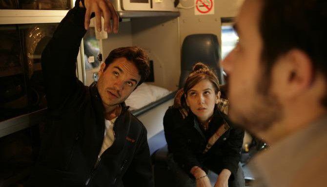 Kuno Becker junto al resto del elenco de Panic 5 Bravo. Becker es el guionista, director y principal actor de la cinta. (CORTESÍA/VIDEOCINE)