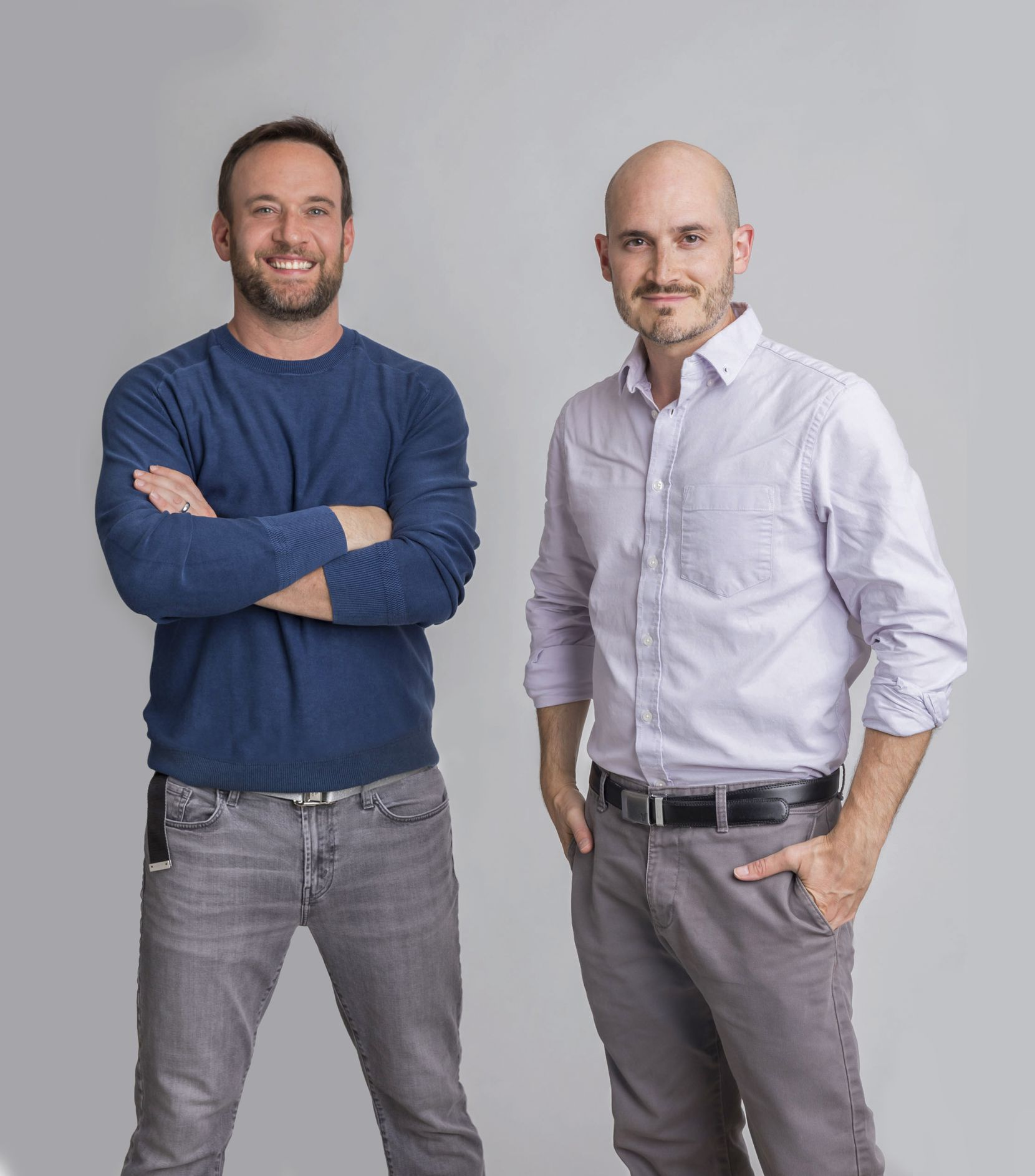 VENN co-founders Ben Kusin, left, and Ariel Horn, right.