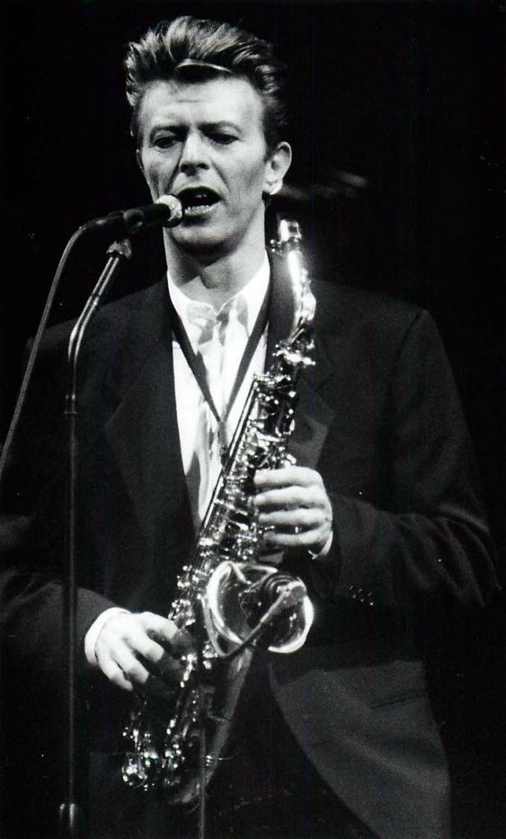 David Bowie performed at Starplex, when it was known as Starplex, on June 4, 1990. (Todd Endorf/The Dallas Morning News)