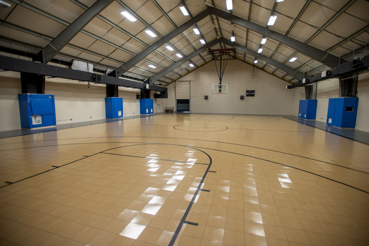 Interior of gymnasium at 5101 Kensington Ct., in Flower Mound, Texas on August 19, 2020. (Robert W. Hart/Special Contributor)