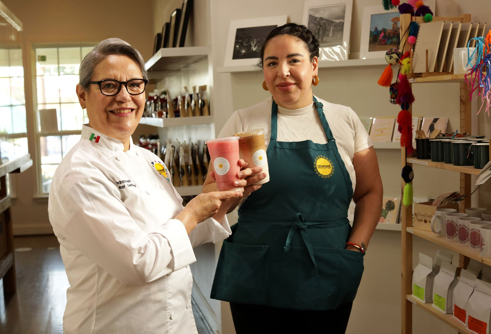 Andrea Pedraza, left, and Cindy Pedraza of CocoAndre