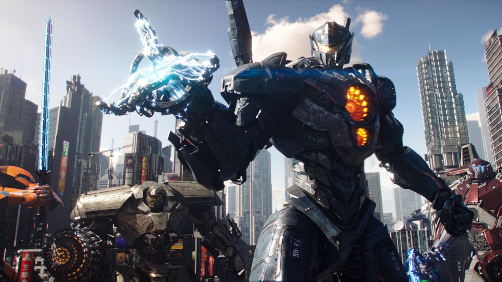 "Los robots son protagonistas de ""Pacific Rim Uprising"", que se estrenó este viernes.(FOTOS: UNIVERSAL PICTURES)"