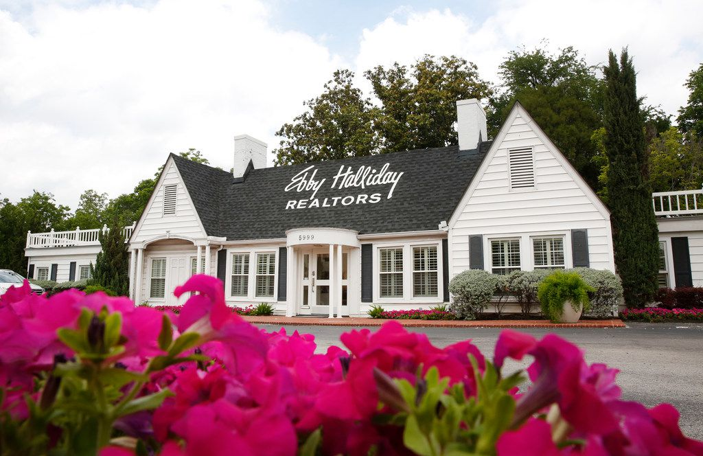 Exterior of Ebby Halliday Realtors in Dallas on Monday, May 21, 2018.