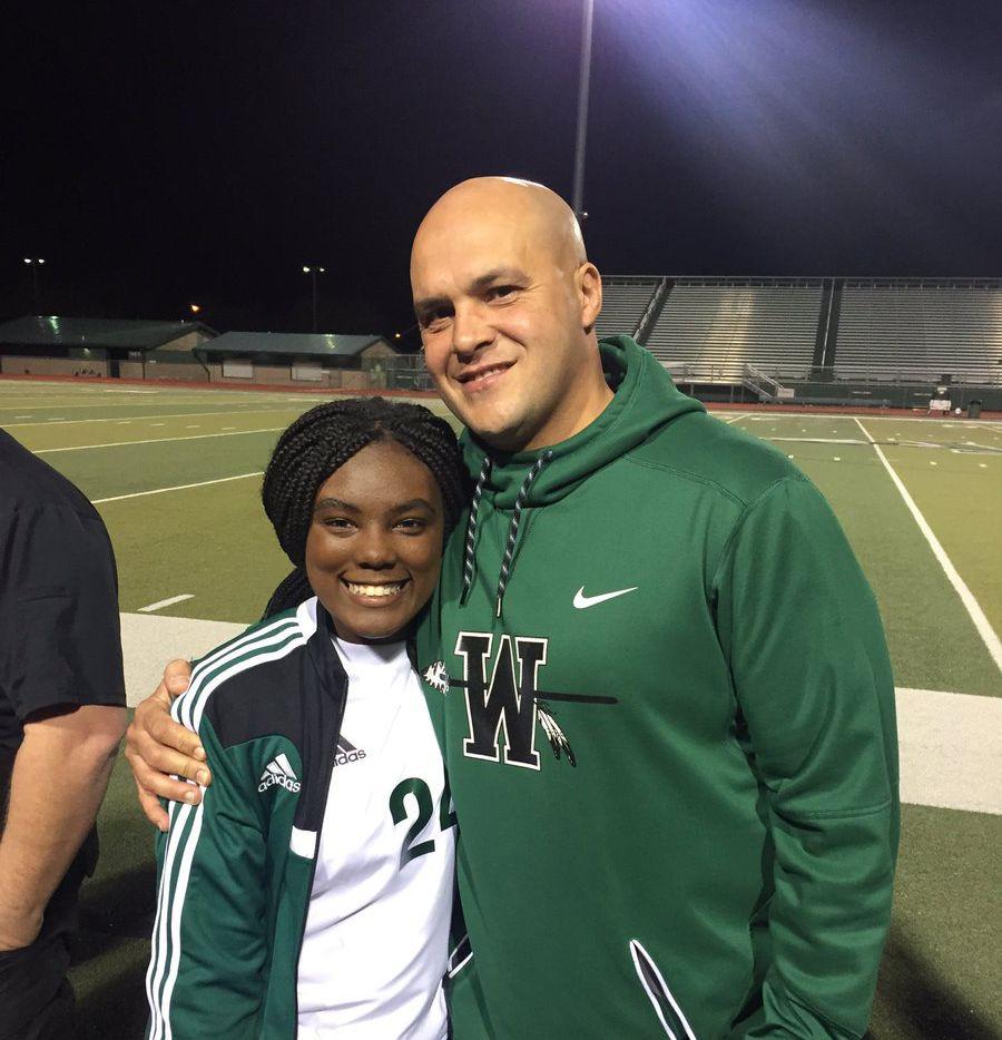 Waxahachie football coach Jon Kitna.
