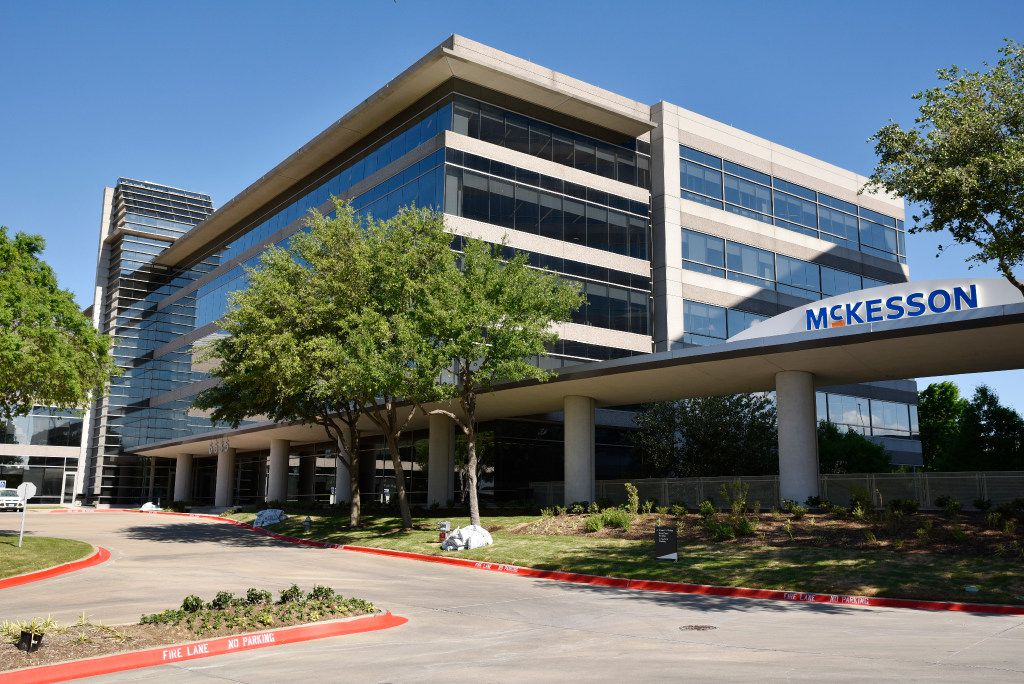 McKesson has announced that it will move its headquarters from California to Irving in April.