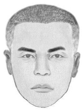 Police sketch of the gunman