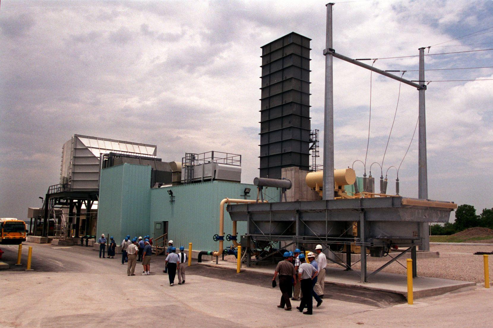 Garland Municipal Power Plant