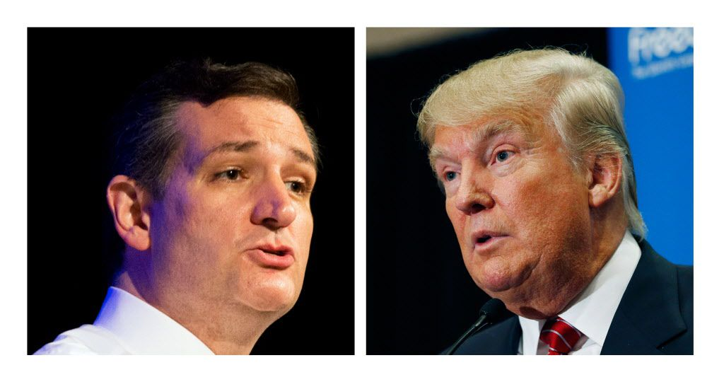 """""""Real men don't attack women,"""" Sen. Ted Cruz said, defending his wife in a response to Donald Trump's latest tweet."""