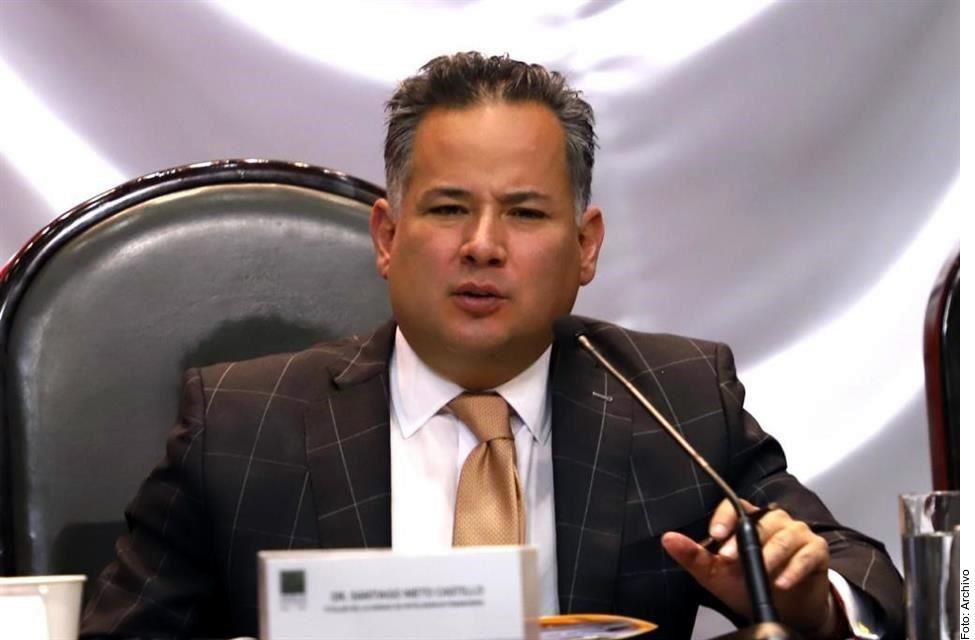 Santiago Nieto, titular de la UIF, que bloqueó 1,939 cuentas ligadas al CJNG, durante un operativo denominado Agave Azul, realizado en conjunto con la DEA.