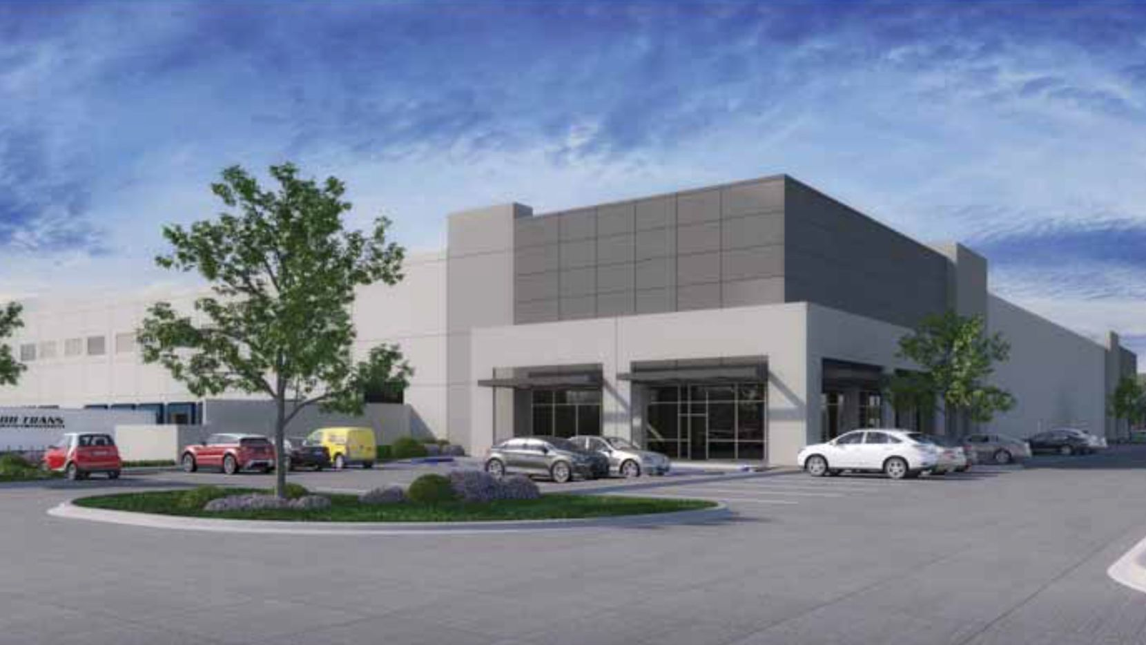 The new business park will be called Shiloh Distribution Center.