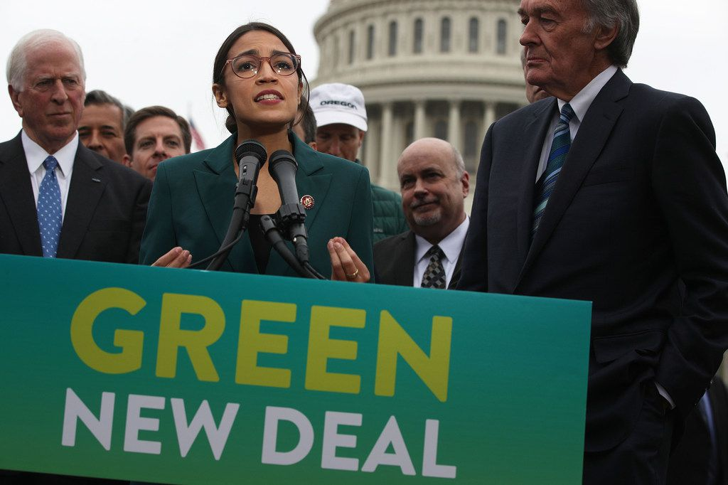 "A Republican super PAC has sought to tie Rep. Colin Allred, D-Dallas, to the ""Green New Deal"" proposal offered by new Rep. Alexandria Ocasio-Cortez, D-N.Y."