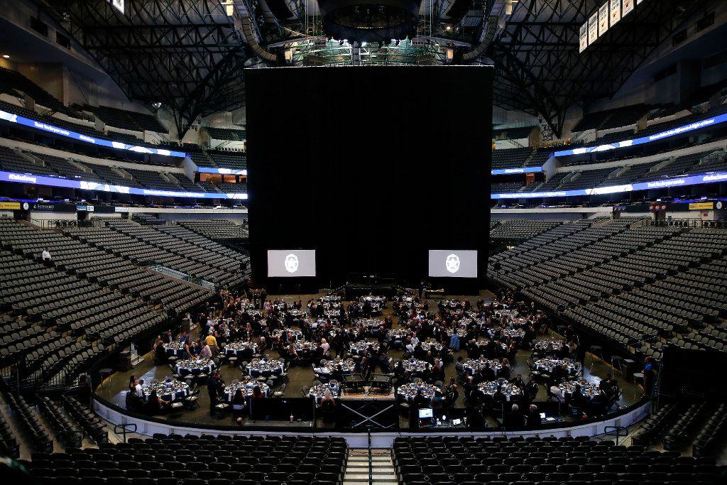 """The """"Night of Honor"""" awards ceremony was held at American Airlines Center in Dallas."""